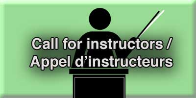 Appel d'instructeurs