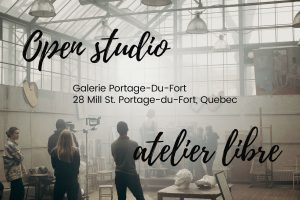 Open studio Monday November 16