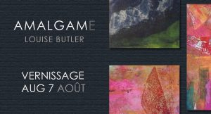 Last chance to see the exhibit : Amalgam- Louise Butler