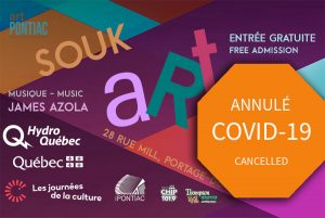 COVID-19 Alerte orange Annulation du SOUK ART