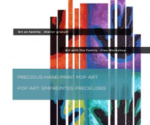 Precious Handprint Pop Art – Free Workshop