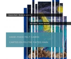 Hand-made Felt Cards